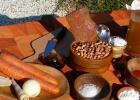 Tejfölös-bőrkés bableves