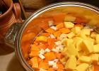 Karácsonyi sütőtök leves